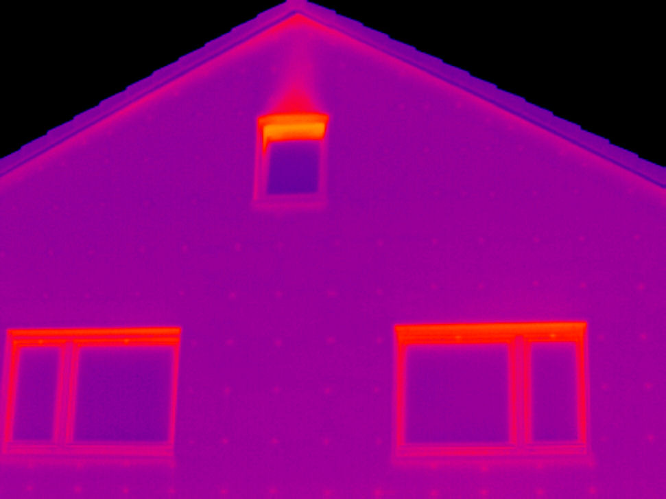 Thermographie Fassade WDVS