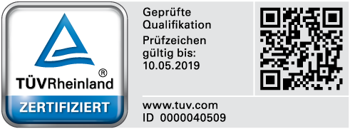 Ulrich Kantner PersCert TÜV Qualified Person