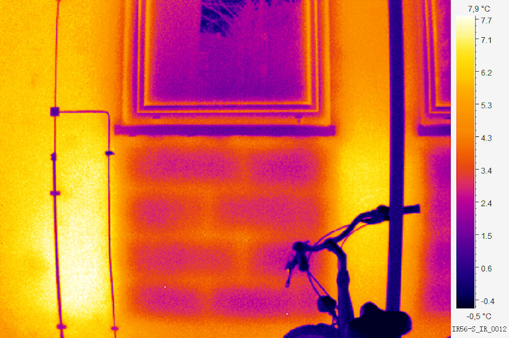 Thermographie Fassade